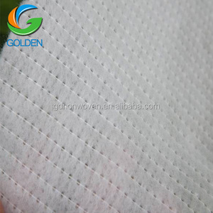 Wholesale raw material of spunbond non woven fabric for sheet,hot sale rpet polyester stitch bond non woven