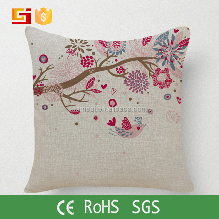 Leaves Throw Pillows Decorative Pillow Case Cover Cushion for Hmoe or Sofa 18 x 18 Inch
