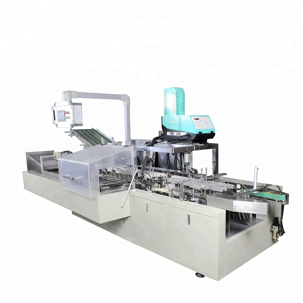 2018 Automatic High Quality Cartoning/Boxing Making Machine for Carton Box