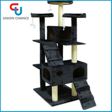 Wholesale Cat Pet Toy Climbing Frame Scratch Board Cat Tree Litter Cat Jumping