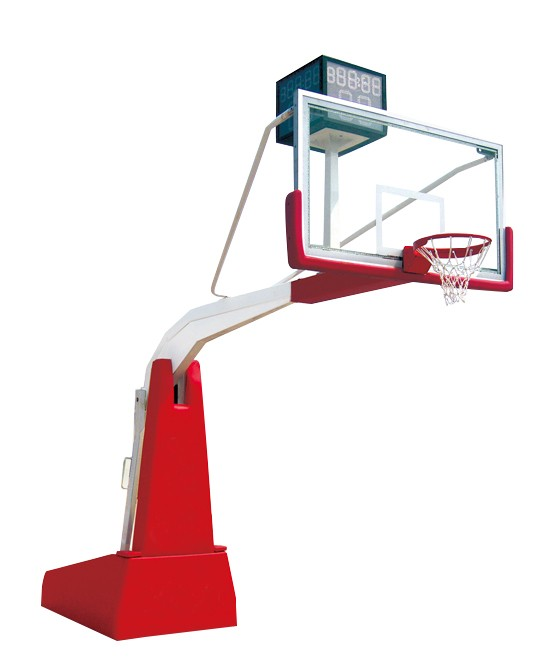 Indoor electric hydraulic basketball equipment basketball hoop stand