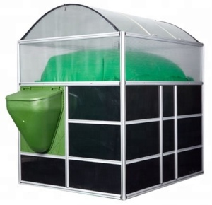 Sunrise portable assembly small mini home use biogas plant