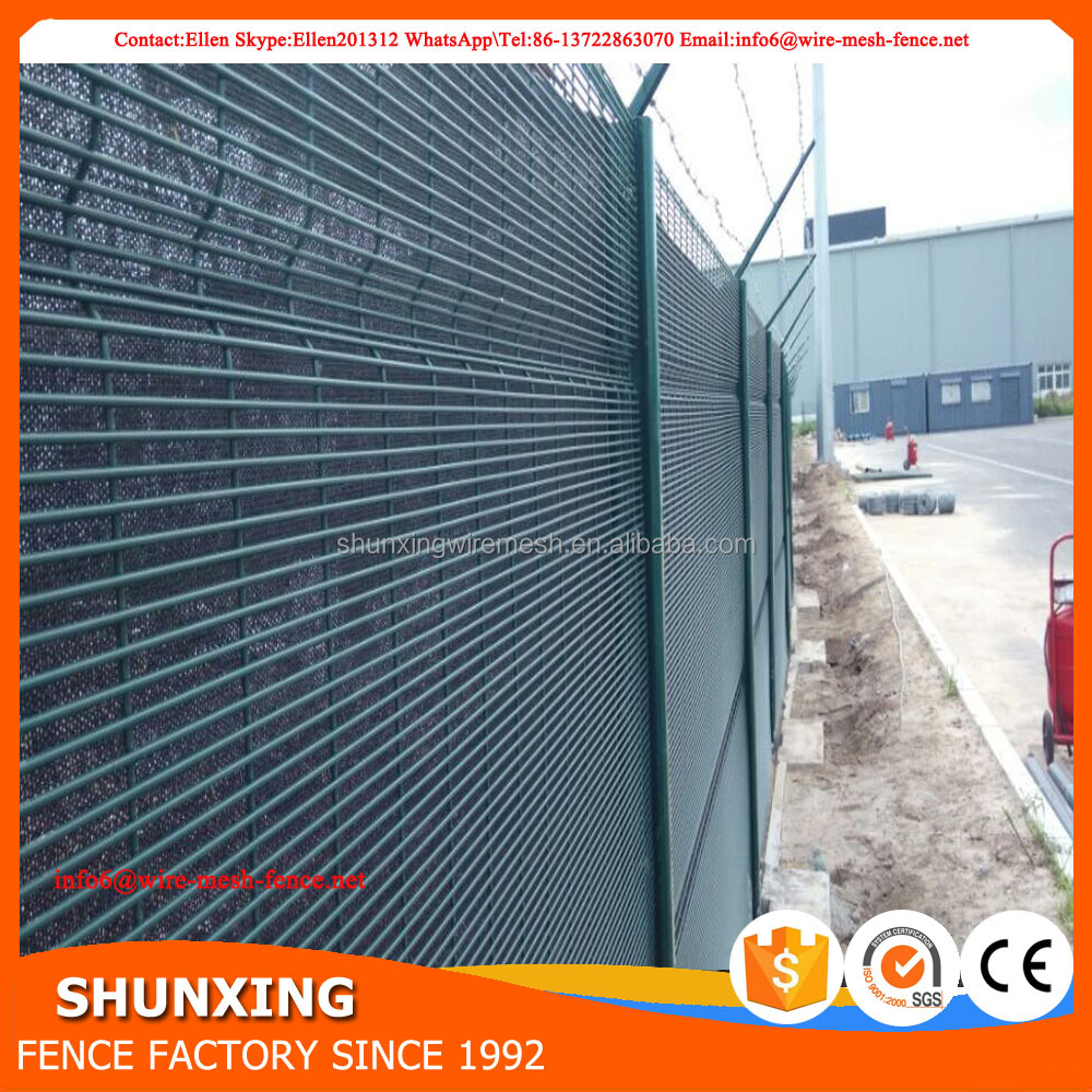 Welded Wire Mesh 358 Security Fence Prison Mesh For South Africa ...