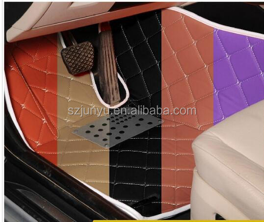5D Full Surrounded Waterproof Leather full set Inon-toxic XPE Car mat for honda