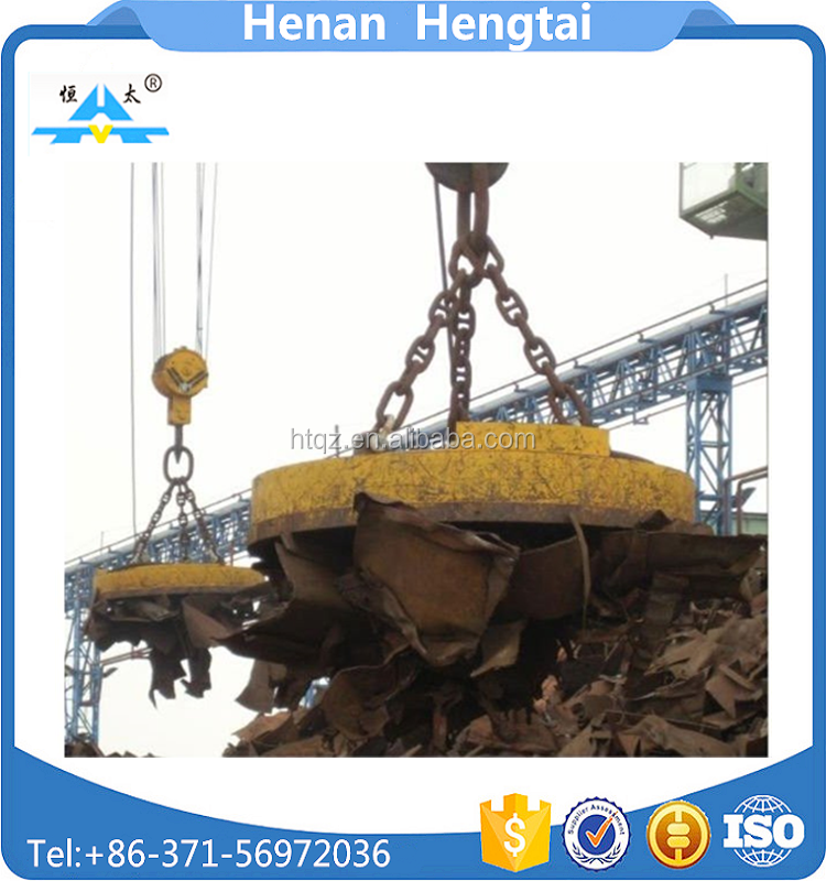 China henan 3 ton lifting magnet for scrap handling