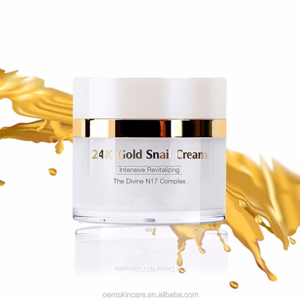 24K Gold Snail Skin Whitening Intensive Revitalizing Cream