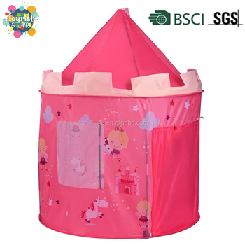 Girls Indoor u0026 Outdoor Deluxe Pink Pop-Up Fairy Playhouse Castle Princess Play Tent  sc 1 st  Alibaba & Girls Indoor u0026 Outdoor Deluxe Pink Pop-up Fairy Playhouse Castle ...