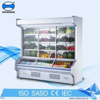 Restaurant Kitchen Order Display restaurant refrigerator/order dishes cabinet/dish showcase - buy