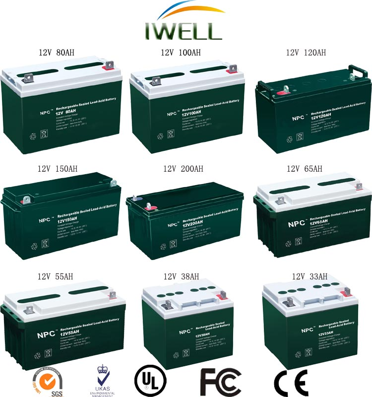 OEM 4V 0.5Ah Sealed Rechargeable Lead Acid Battery