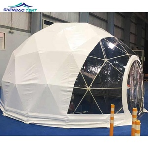 Factory Price 4m Astronomy Geodesic Dome Tenda Camping Tent