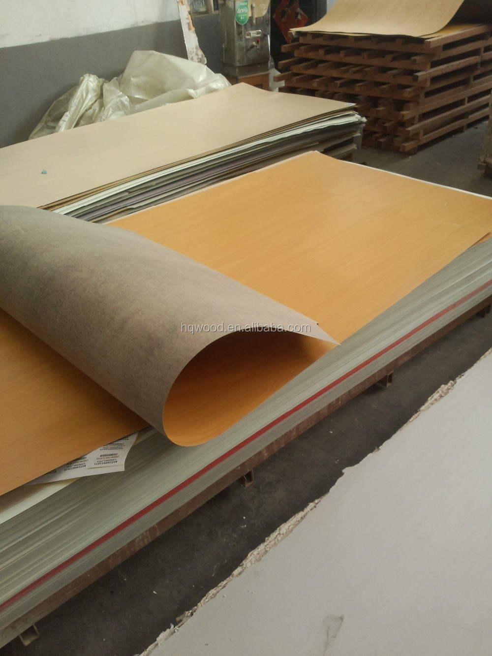 1220 2440mm Wood Grain Flexible Hpl Soft Hpl Decorative