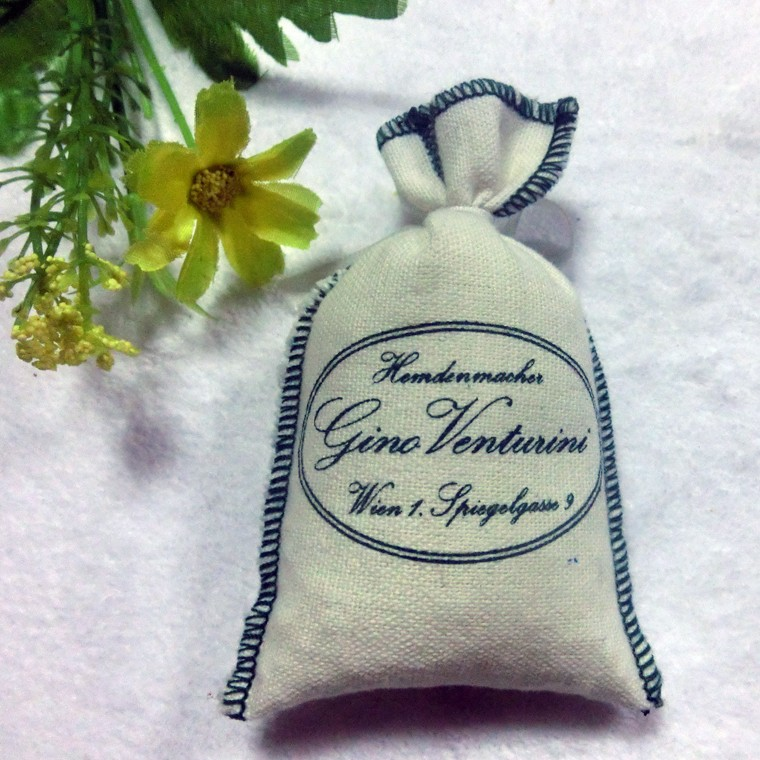Customer logo fragrance linen sachet, scented sachet, perfume cushion