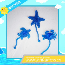 Novelty sea animal sticky toys for kids