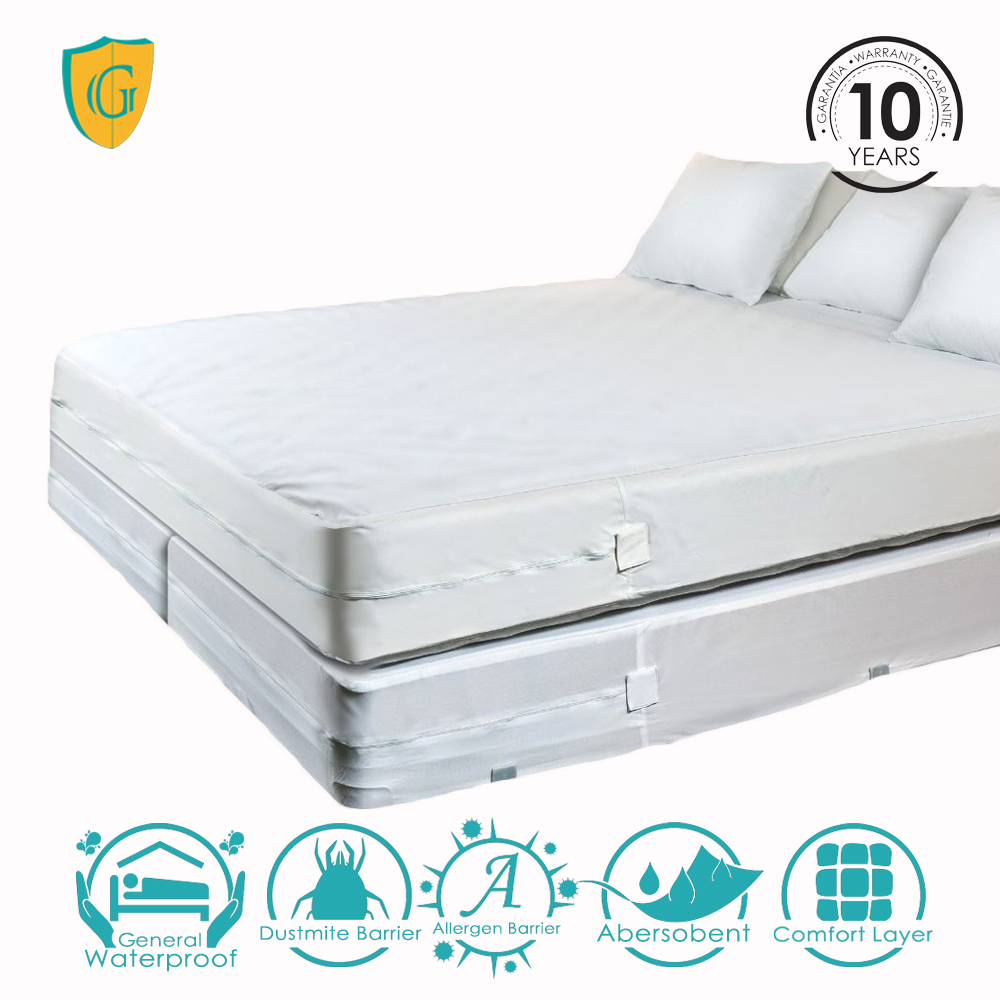 Bed Bug Mattress Cover.Wholesale Bed Bug Allergy Relief Zippered Mattress Cover Buy