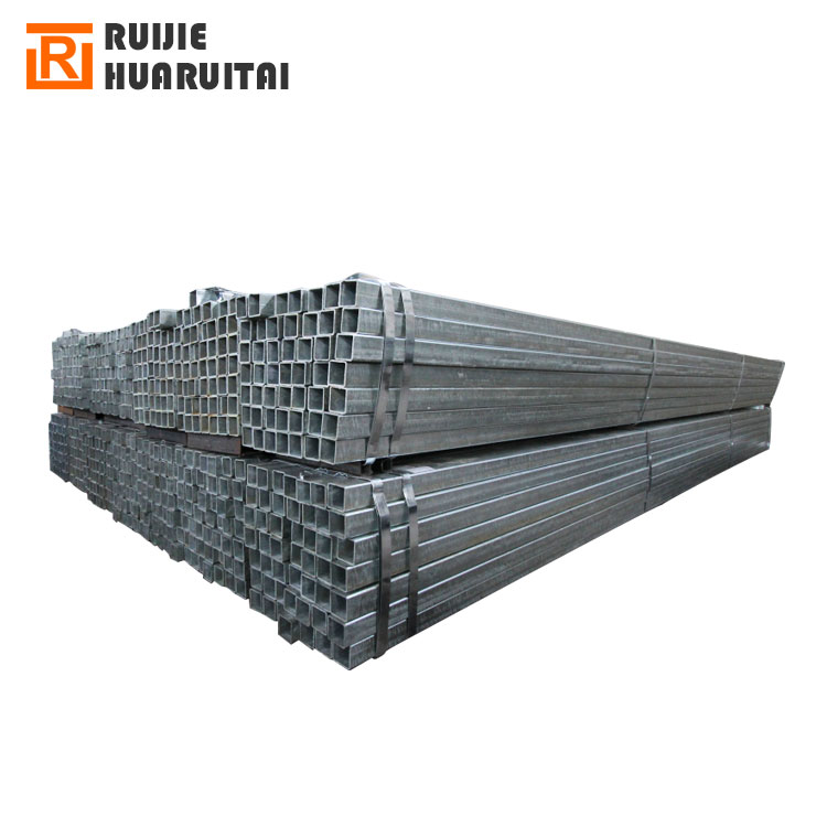 Steel box section standard sizes, galvanized hollow section at low price erw steel square tubing standard sizes