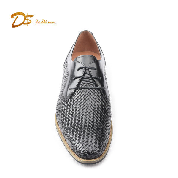Luxury Wholesale Lace High Leather Oxford Style Fashion up Men Shoes Class Casual rnqrF0wBa