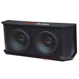Dual 10inch/12inch car audio bass box enclosure subwoofer speaker 12v