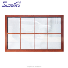 China suppliers sound proof tinted glass aluminium fixed window