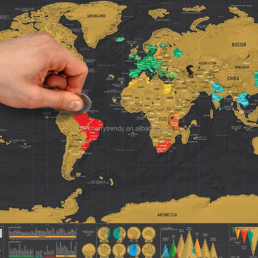 perfect scratch map making your own travel story