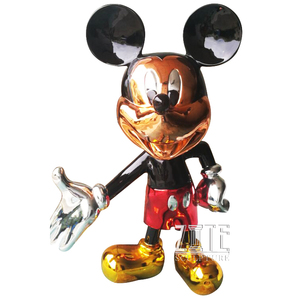 Hot Sale Life Size Fiberglass Mickey Mouse Sculpture