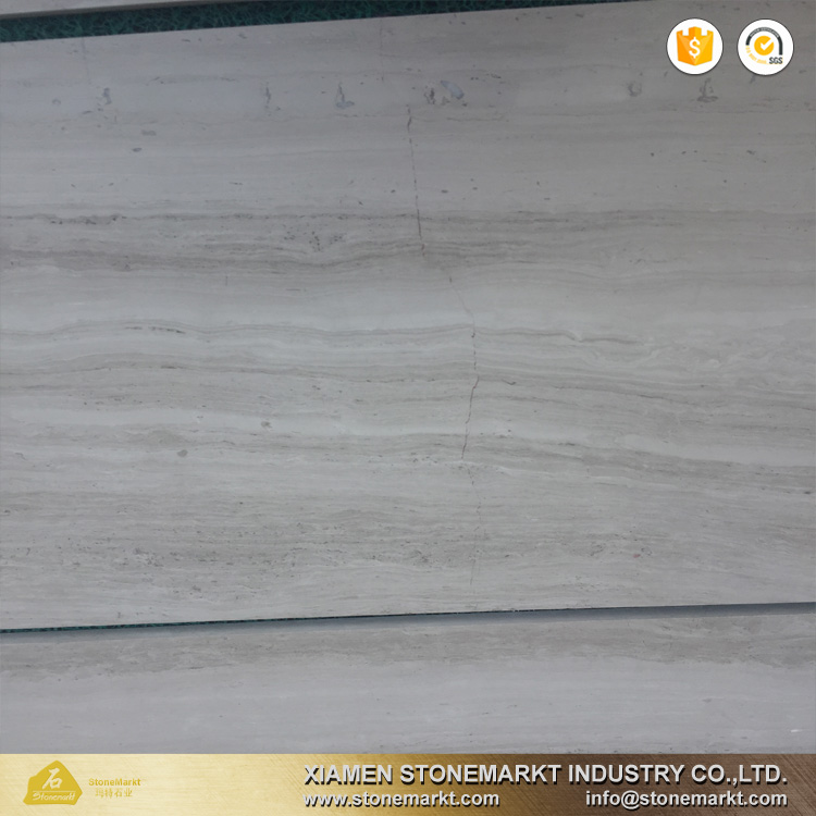 StoneMarkt white wood marble wooden marble floor tiles