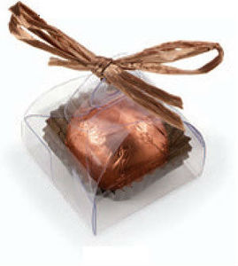 Clear Single Truffle Box