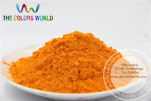 Orange Yellow Color Pearlescent pigment,pearl luster pigment,Mica Powder DIY  Makeup Nail Design ,Nail Polish 1 lot= 50g