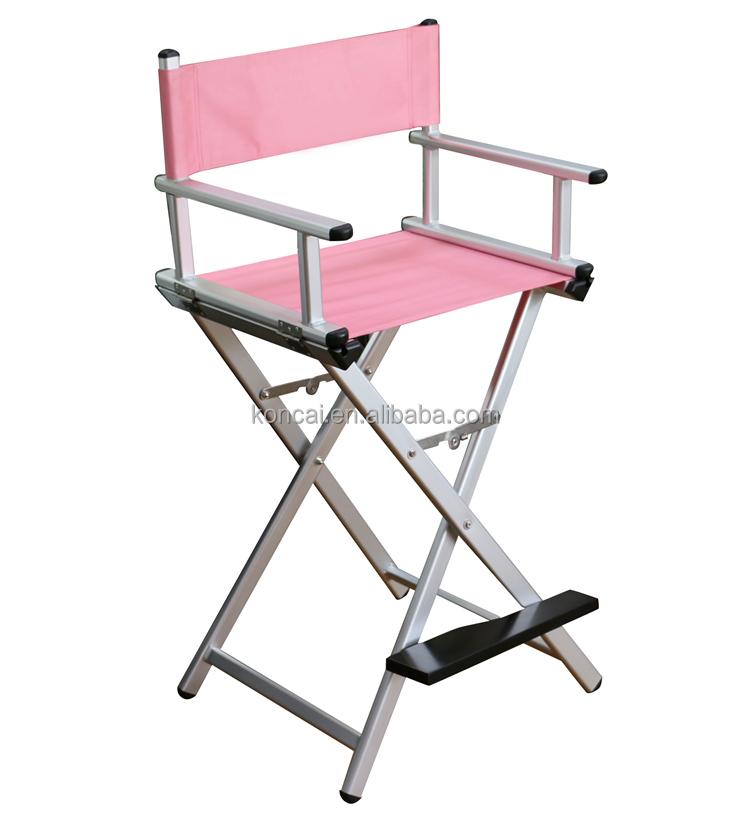 New Design Used Cheap Wood Tall Aluminum Folding Director Chair, Metal  Frame Aluminum Director Chair