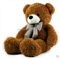Scarf soft toy stuffed teddy bear ,200 cm sitting cute teddy bear