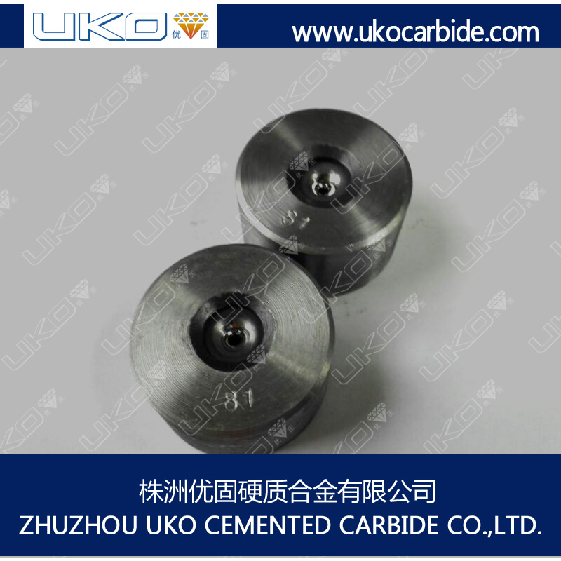 Tungsten carbide wire drawing dies used to wire rod straightening and cutting machine
