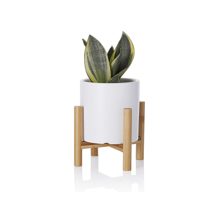 Wholesale Modern Succulent Flower Ceramic Plant Pots with Stand