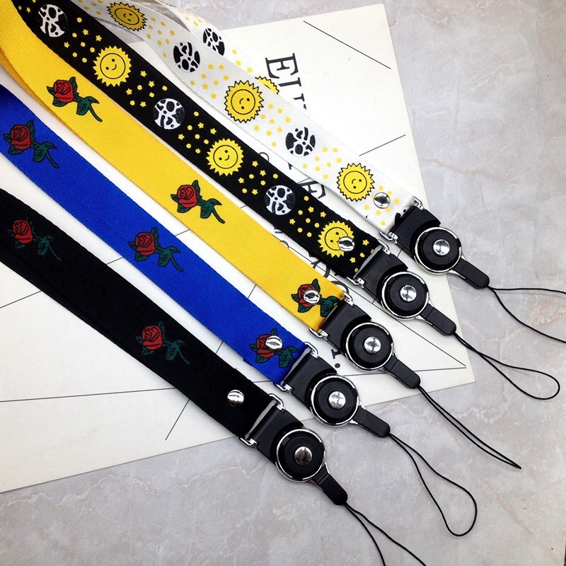 Factory price neck strap for mobile key pendant phone accessory for wholesale
