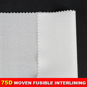 high quality woven interlining for suit dot fusible interlining