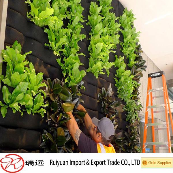 Vertical Garden Felt Hanging Wall Planter For Flowers Buy Felt