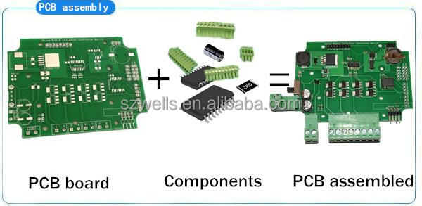 4-Layer Number of Layers substrate fr4 pcb