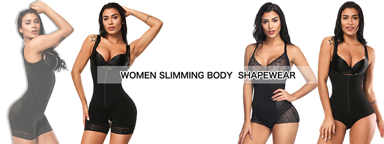 e88c0f0571d Amazon Hot Selling Women Weight Loss Bottom Lace Prevent Curling Perfect  Full Women Body Shaper ...