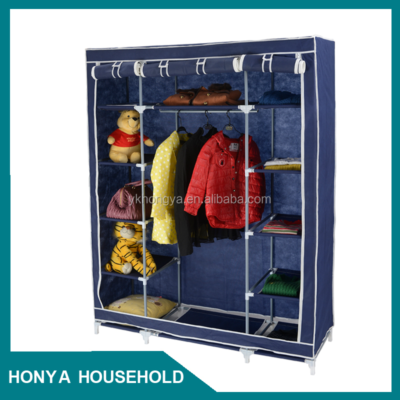 2015 hot selling folding wardrobe for girls