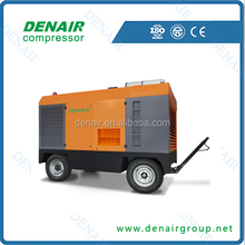 25bar high pressure and big capacity diesel mobile air compressor for sale!