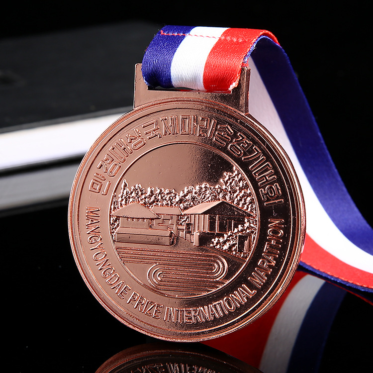 Wholesale swimming sports medals blank metal medal blanks cheap customized design plating