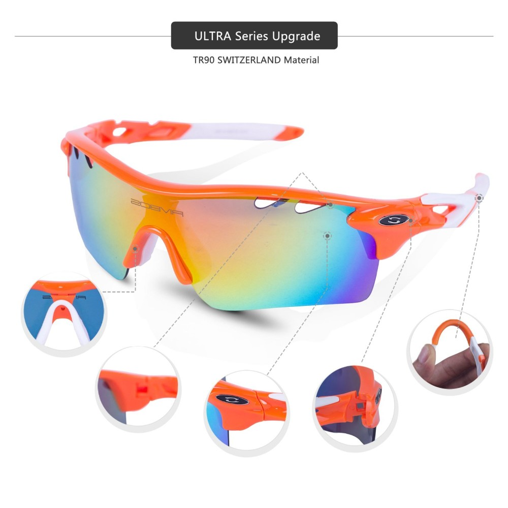 2016 new style sports eyewear with TR90 frame