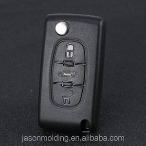 JasonMould High Precision OEM Plastic Injection Molding/Moulding Car Remote Key Cover, Shenzhen Manufacturer CNC Machining
