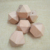 High Quality Natural Wooden Hexagon Beads Solid Geometric Teething Beads