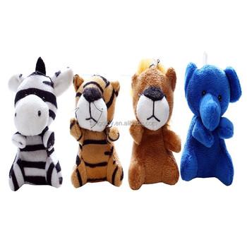 Small Mini Zoo Animal Plush Stuffed Toy Plush Toy Keychain Soft Toy