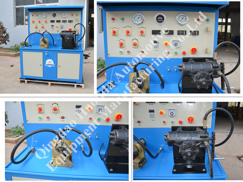 Test Bench for Automobile Steering Gear Power Pump