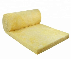 Fireproof Glass Wool Insulation for building material