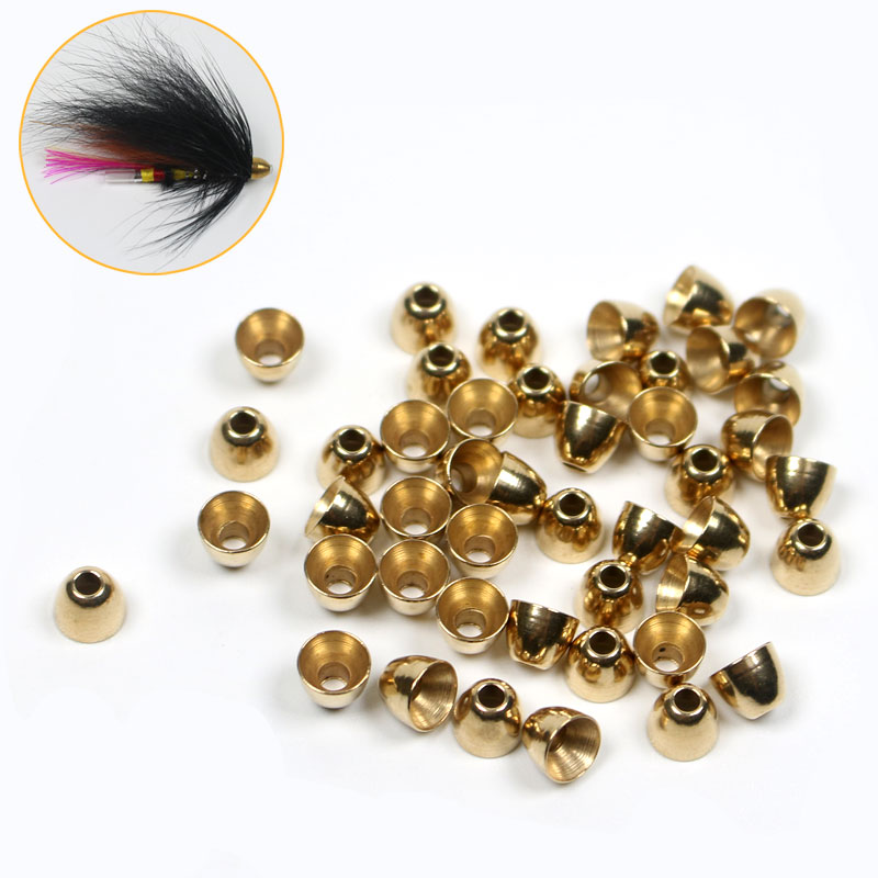Fly Tying Brass Beads Copper  of  5//32 100