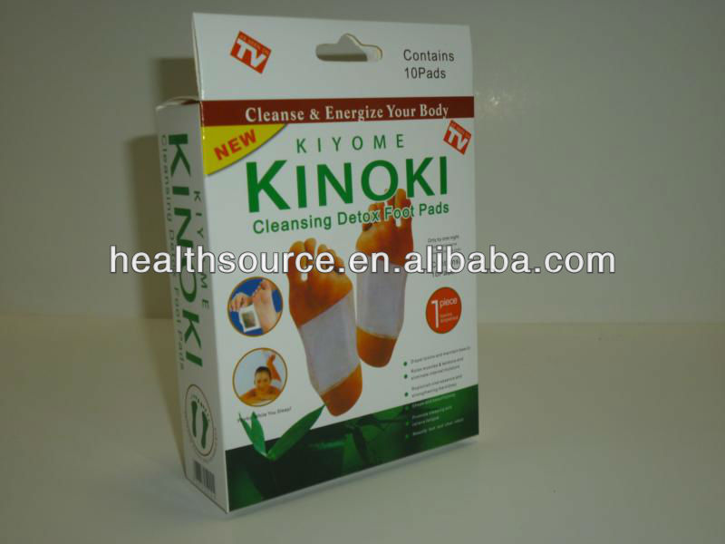 detoxifying foot patches / new package HOT in the market