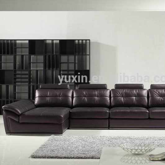Germany Living Room Leather Sofa Luxury