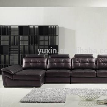 Germany Living Room Leather Sofa Luxury