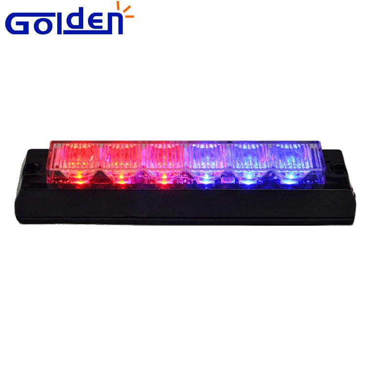 Undercover 6 LED Car Emergency Warning Beacon Flash Strobe Grille lamp police dash light